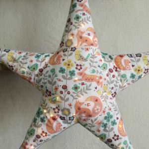 Etoile lumineuse décoration pour chambre d'enfant